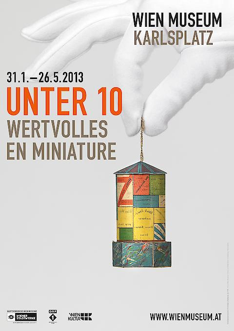 Bueronardin, Unter 10 (Wien Museum) — Communication, Editorial Design, Exhibition Design
