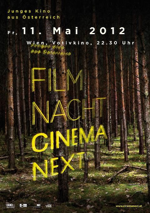 Cinema Next (with Judith Holzer)— Corporate Design, Communication, Poster