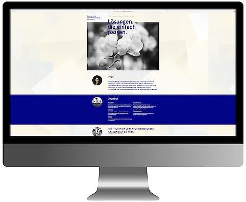 Gertrude Walch Consulting — Corporate Design, Communication, Webdesign