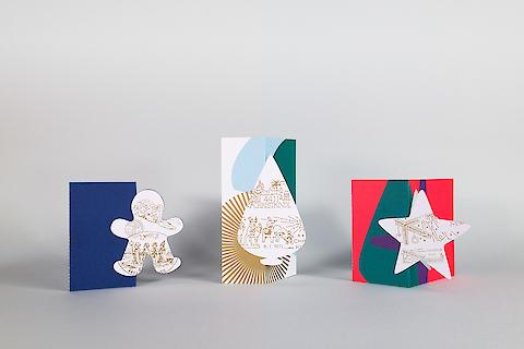 Österreichische Post, Ferrytells, Christmas Products — Product Design, Illustration